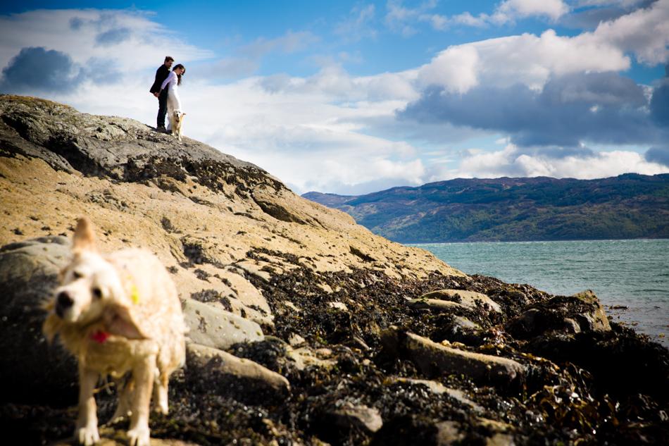 Loch Fyne wedding photography