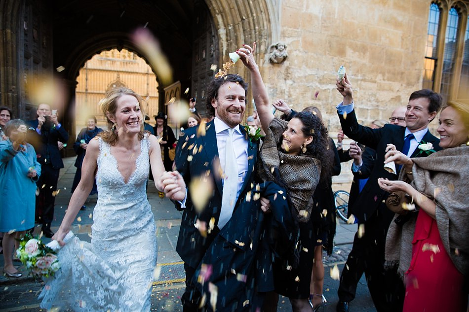 A Bodleian Library Oxford wedding