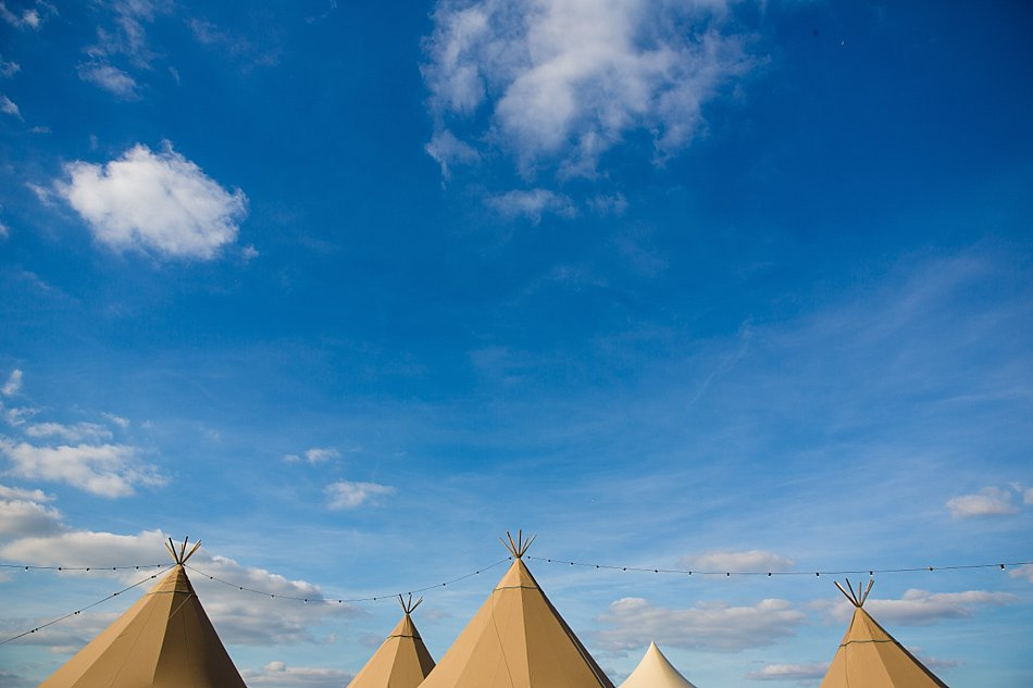 Tipi wedding Oxfordshire