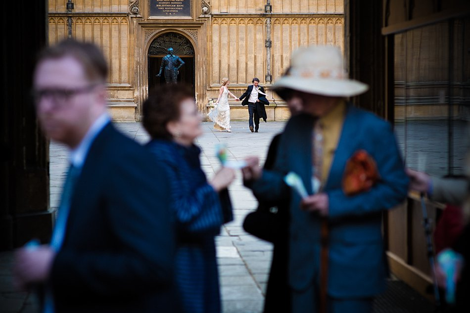 Bodleian Library wedding photographers