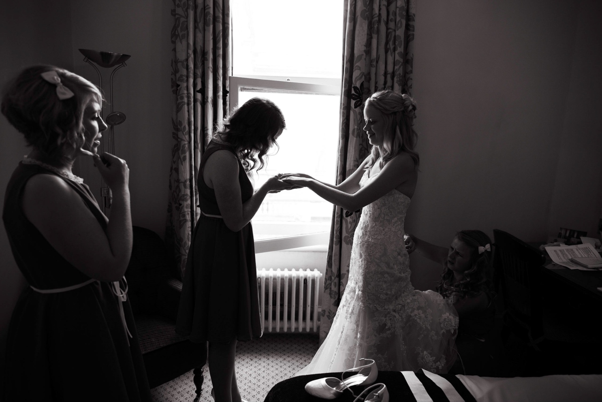 Randolph Hotel Oxford wedding