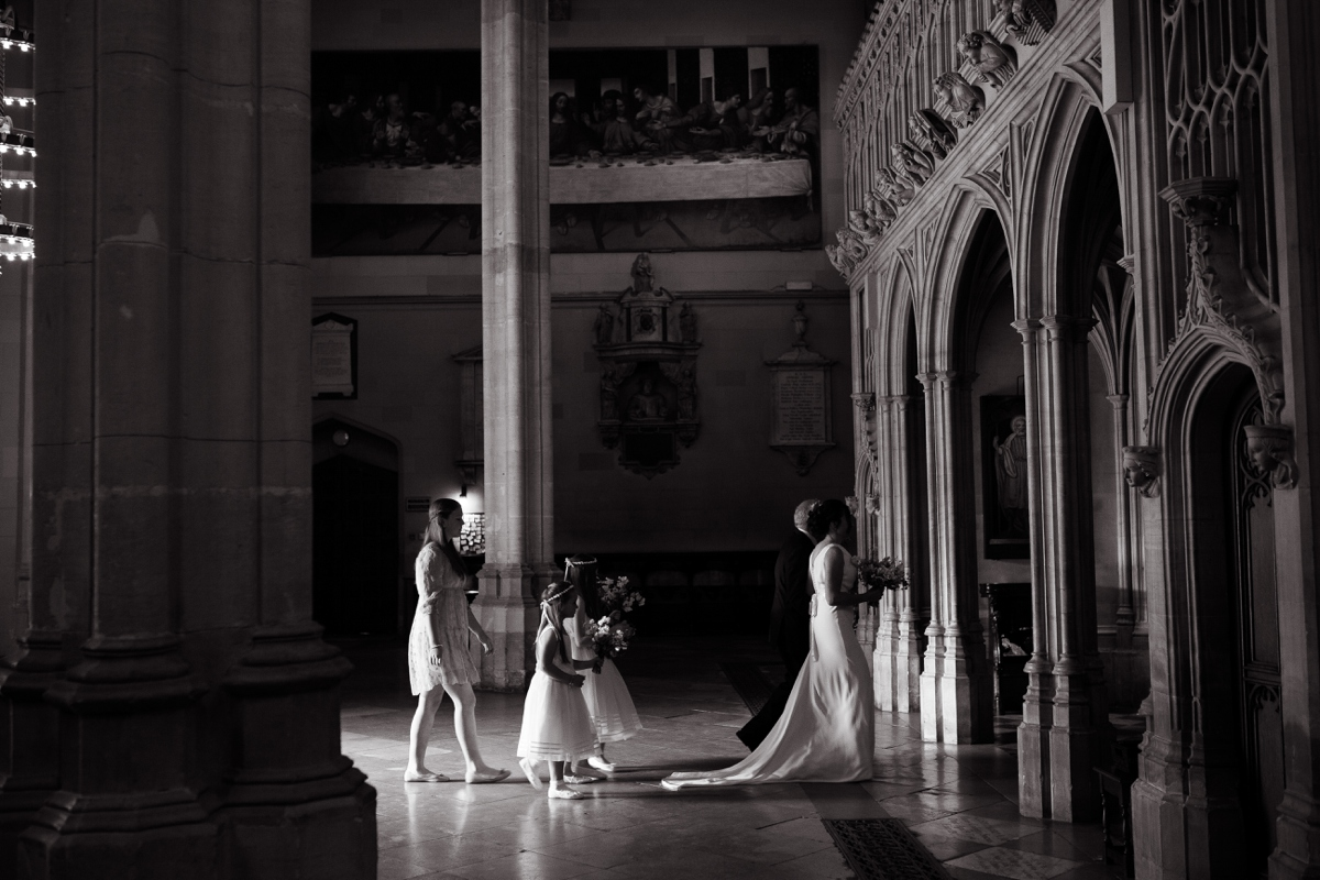 Magdalen College wedding photography