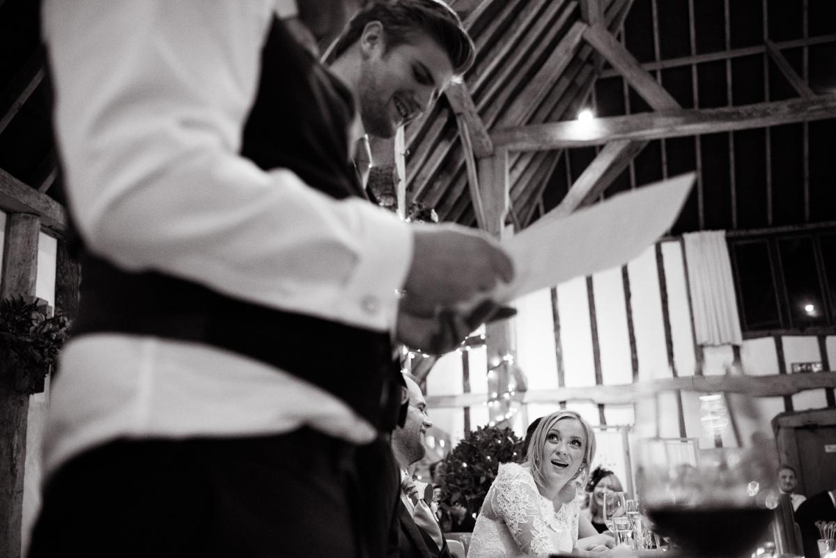 Clock Barn wedding photographer