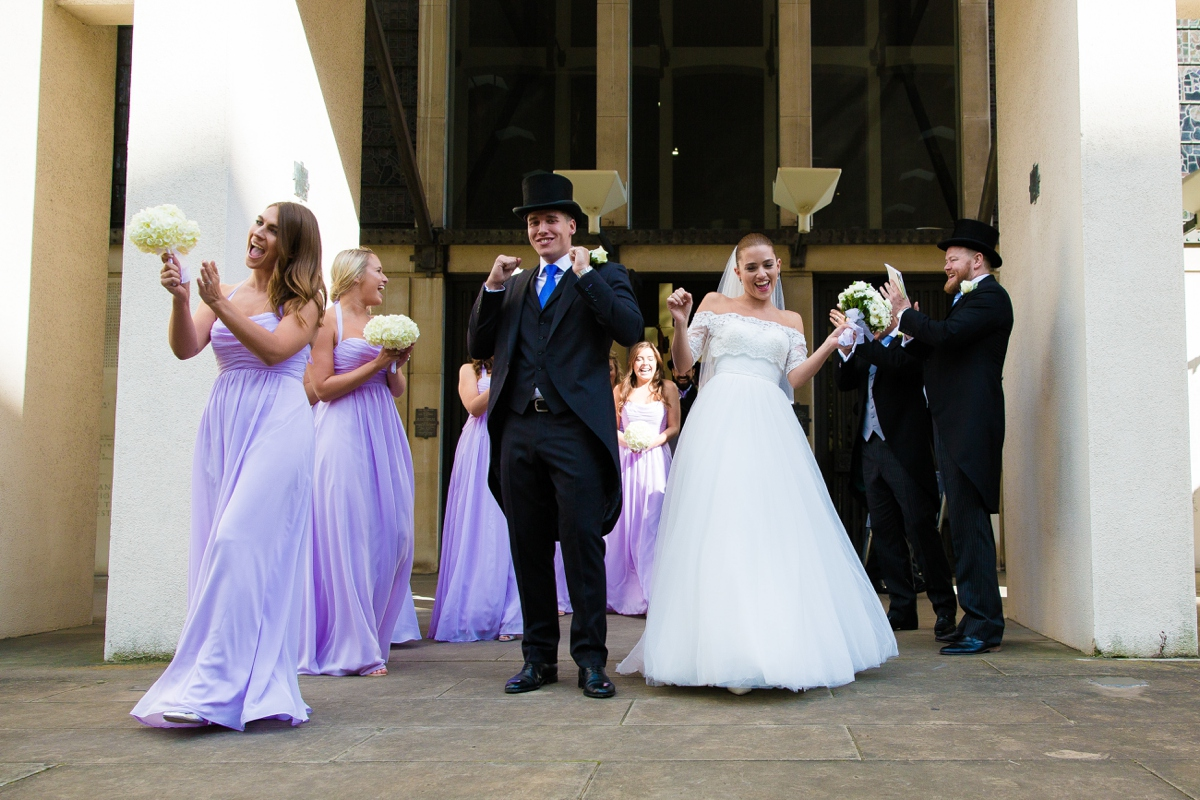 Naval & Military Club wedding photographer