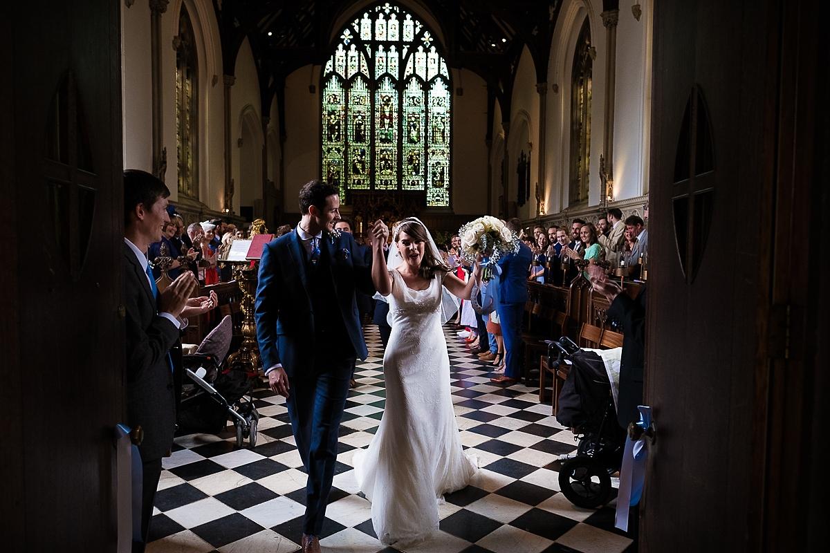 St. John's College wedding