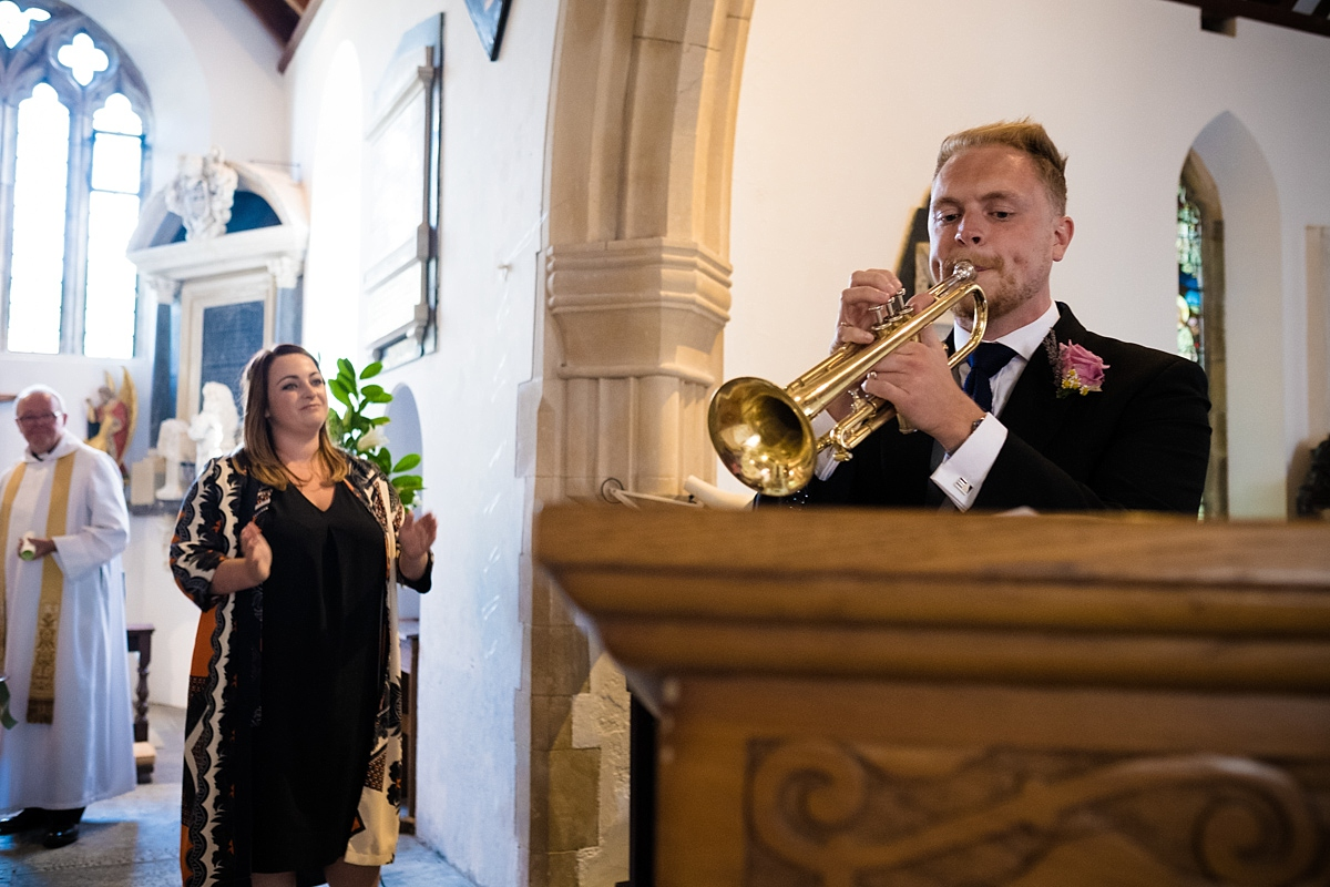 Mylor church wedding