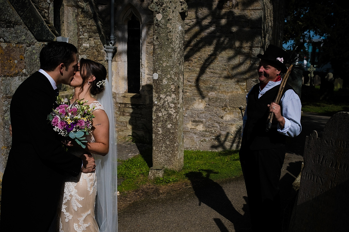 Wedding chimney sweep