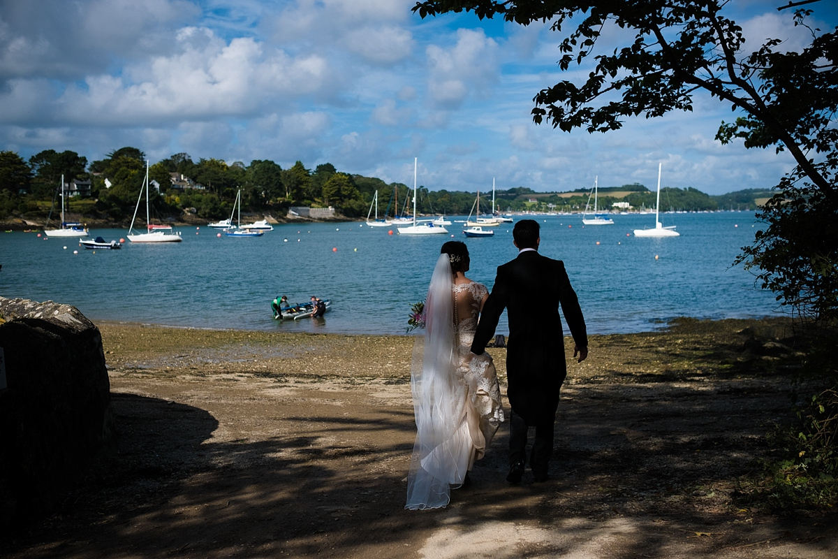 Mylor Creek wedding