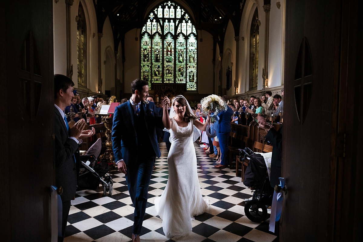 St. John's College Oxford wedding