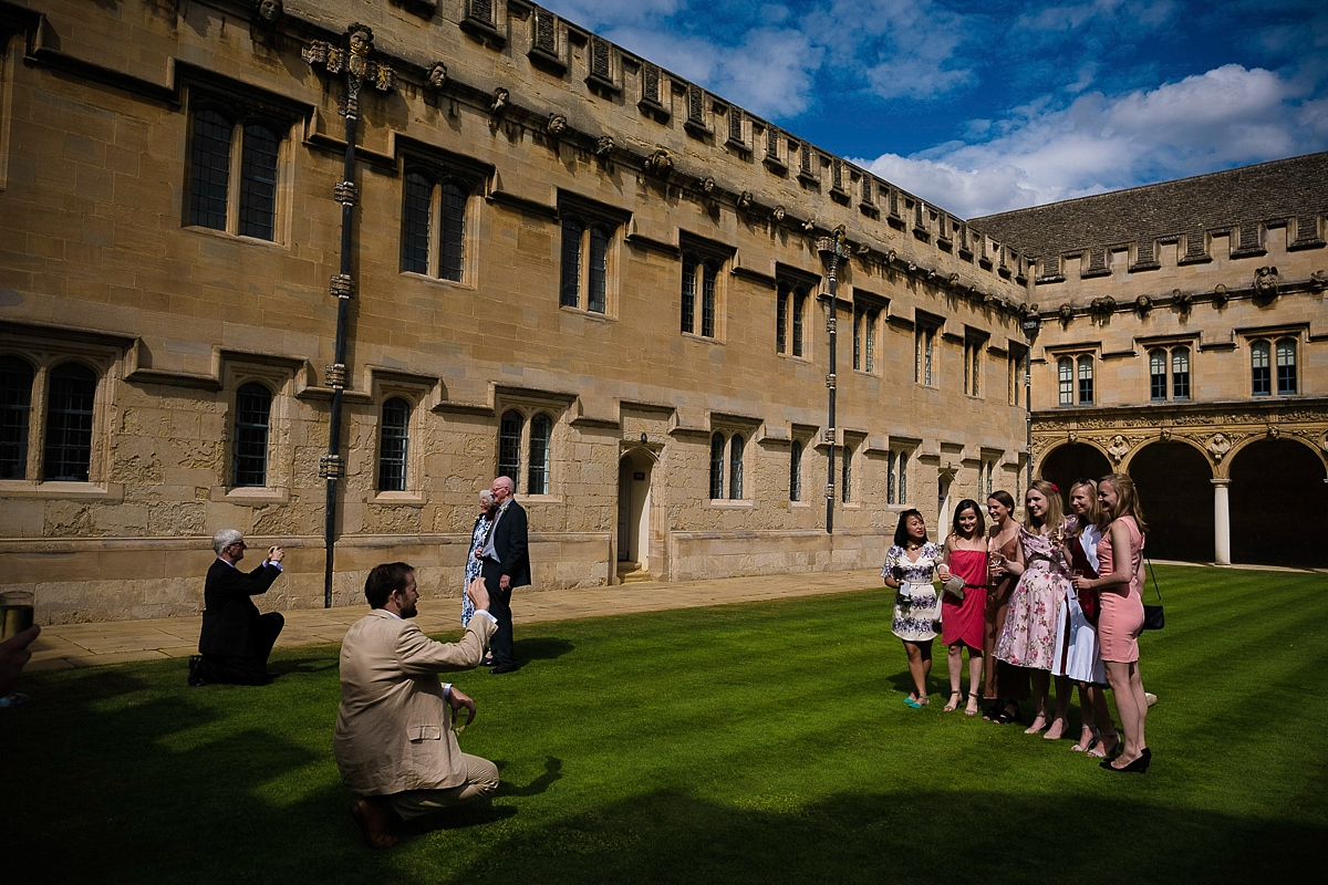 St. John's College Oxford wedding
