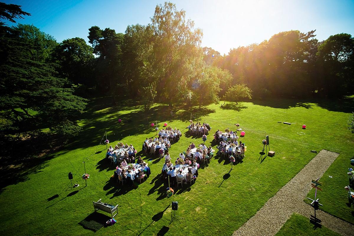 Outdoor wedding venues UK