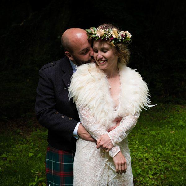 A Fforest wedding - Laura & Mike
