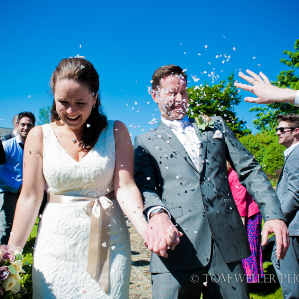 Rectory crudwell wedding photography - A summer image