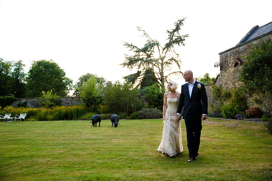 Rectory Crudwell wedding