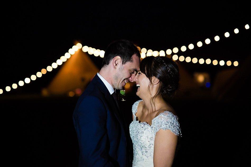 Tipi wedding with a festival theme