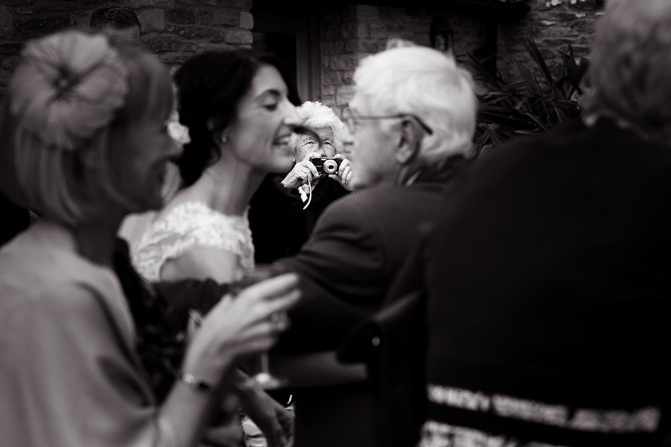 Kingscote Barn wedding photographers