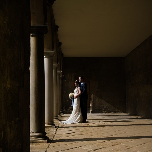 St. John's College Oxford wedding photography - Kathryn & Pete