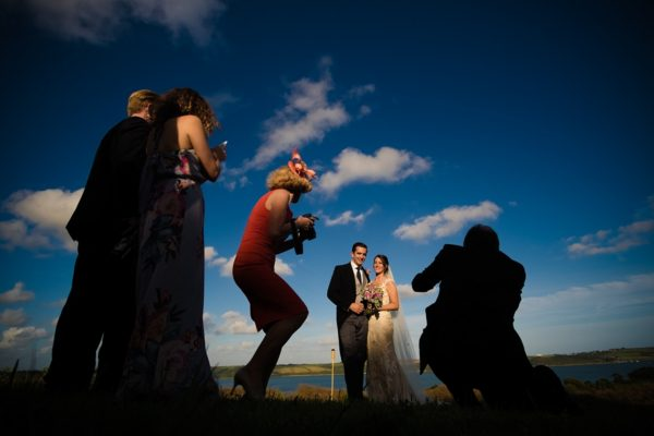 Restronguet Barton Farm wedding