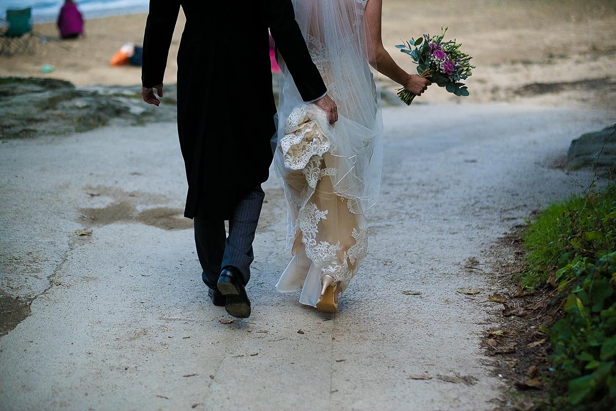 Restronguet Barton wedding