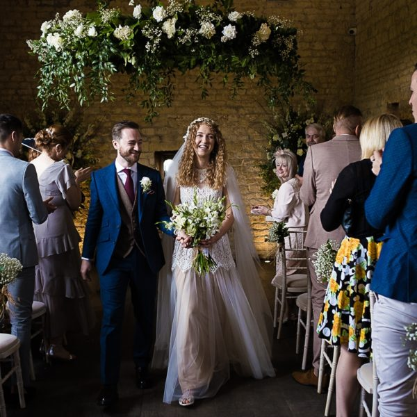 Adele & James - A Lapstone Barn wedding